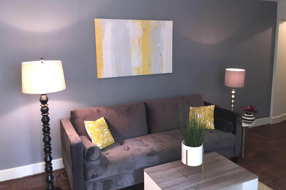 Delaware Park Accent Wall