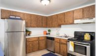Kitchen at Witmer Rd Apartments