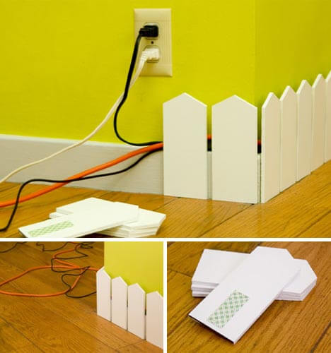 wall socket hiding system